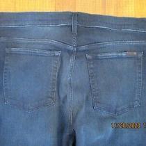 Joes the Brixton Straight  Narrow Blue Stretch Denim Jeans Sz 38 Photo