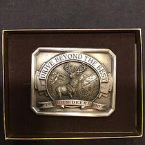 John Deere Vintage Old Collectable Belt Buckle Drive Beyond the Best Photo