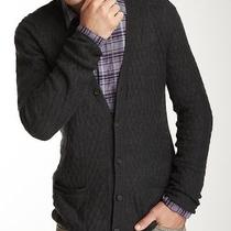 John Varvatoes Cable Cardigan Men's Sweater Photo