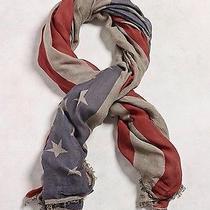 John Varvatos American Flag Scarf Photo