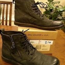 John Varvatos Barrett Zip Boots Photo