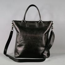 John Varvatos Black Tote Bags & Leather Goods Photo