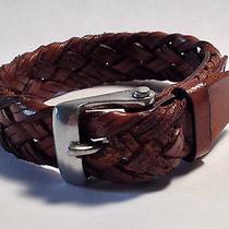 John Varvatos Braded Detail Cuff Bracelet  100% Authentic Nr Photo