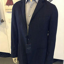 John Varvatos- Charcoal Blazer Rare Size 50 Unique Made in Italy  Photo