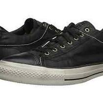John Varvatos Converse Black All Star Ox Mens Sneakers Size 7.5 Photo