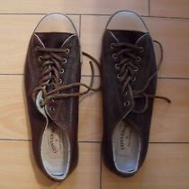 John Varvatos Converse  Brown Leather Mint Condition Photo