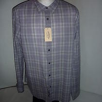 John Varvatos Converse Casual Plaid Shirt Nwt X-Large Photo