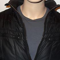John Varvatos Converse Jacket in Black Size Xl Zip Front Was 400.00  Photo