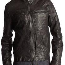 John Varvatos Converse Leather Jacket Xl 998 Photo
