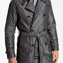 John Varvatos Gray John Varvatos Splash Raincoat (44r) Photo