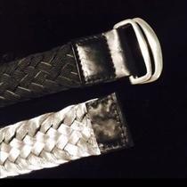 John Varvatos Handwoven Reversible Belt Photo