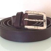 John Varvatos Leather Belt Photo