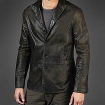 John Varvatos Leather Car Jacket Photo