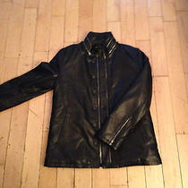 John Varvatos Leather Jacket Photo