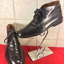 John Varvatos Leather Mens Boots Size 10.5 Photo