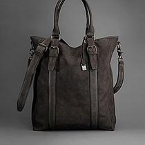 John Varvatos Men's Large Tote Bag Brown Photo
