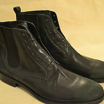 John Varvatos Men's Leather Boots Size Us 8 Eu 41 Photo