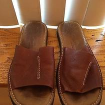 John Varvatos Men's Leather Sandal  Photo