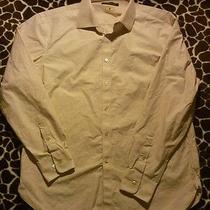 John Varvatos Mens Shirt Size 17 Tan Photo
