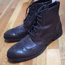 John Varvatos Mens Wingtip Boots Photo