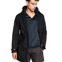 John Varvatos Navy Coat Size 52 998 Photo