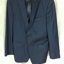 John Varvatos Pinstripe Bowery Suit 40r Photo