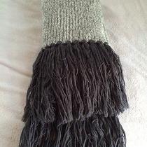 John Varvatos Scarf  Wool and Cashmere. Photo