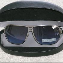 John Varvatos Silver Metal Sunglasses  Photo