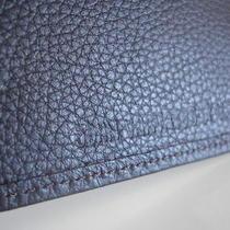 John Varvatos Star Usa  Bifold Wallet Brand New Brown Leather Photo