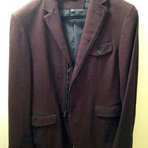 John Varvatos Star Usa Wool Sport Coat (Burgundy) Photo