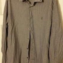 John Varvatos Striped Shirt M Photo