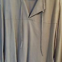 John Varvatos Suede Sweater Shirt  Photo