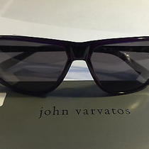 John Varvatos Sunglasses V780 Dark Purple Photo