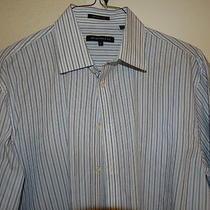 John Varvatos Superfine Cotton  Men's  Dress Shirt   Sz. 17 Reg.  Photo