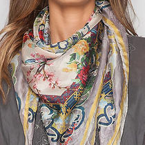 Johnny Was Red Cloud Scarf From 2014 Collection Photo