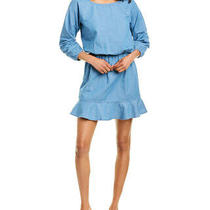 Joie Arryn B Mini Dress Women's Blue L Photo