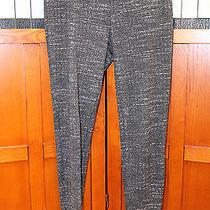 Joie Black Gray Tweed Skinny Leg Leggings Pants Pull on Xs Photo