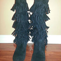 Joie Black Suede Boots Photo