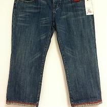 Joie Blue Jean Light Wash Summer Spring Casual Women's Capri Pants Size 28 Photo