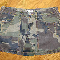 Joie California Multi-Colored Camouflage Mini Skirt Size 10 Photo