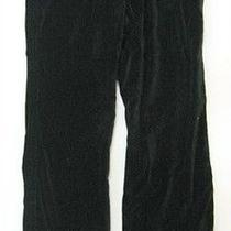 Joie Clothing Clothes Black Velvet Pant 10 Waist34