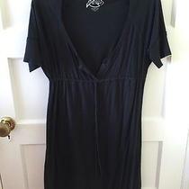 Joie Cotton Black Dress L Photo