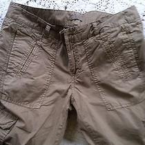 Joie Cropped Cargo Pants Preowned Great Cond  Size Medium / Tag Is 4 Run Big Photo