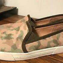 Joie Huxley Camo Slip on Sneakers Size 9 Photo