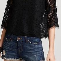 Joie Lace Blouse Top Photo
