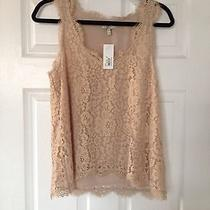 Joie Lace Tank Blouse Photo