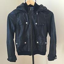 Joie Leather Bomber Jacket Photo