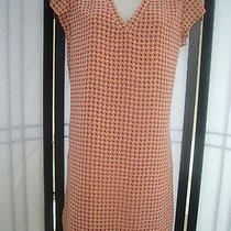 Joie Mornel Hot Coral Dress S New Photo
