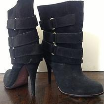 Joie My Generation Suede Boots Booties - New Photo