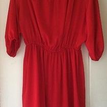 Joie Red Dress Large Euc Nordstrom Photo